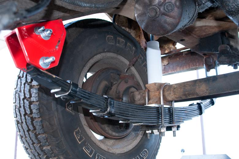 Scout 80, Scout 800 Suspension Lift Kit 2 5