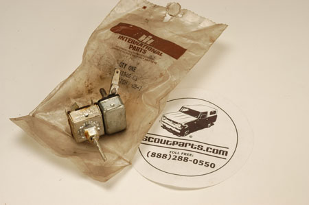 Scout II, Scout 800 Wiper Switch new old stock.