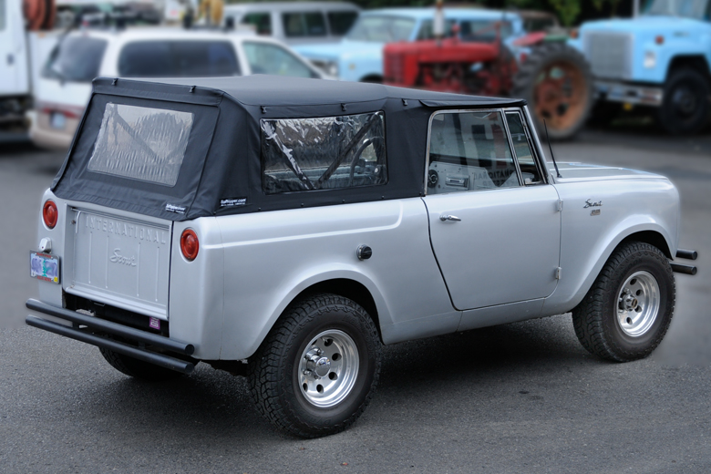 Soft vinyl convertible top - returned- for 80/800 Scout