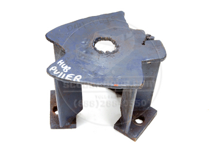 Tapered axel hub puller, Used