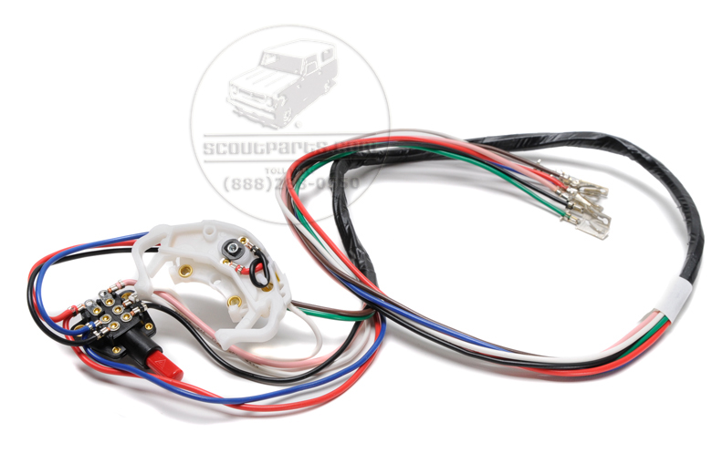 Scout 80, Scout 800 Turn Signal Switch - 6 Wire W/hazard