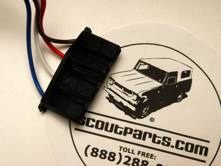 Scout 80, Scout 800 Voltage Regulator Repair Harness