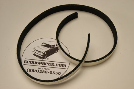 Scout 800 Lower Lift Gate Seal - Late Model