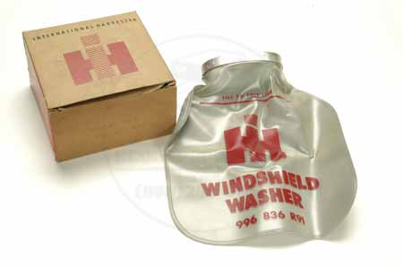 windshield washer bag IH  -  NEW OLD STOCK