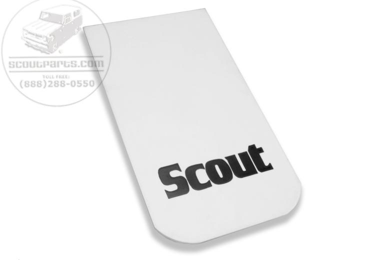 Scout II Mud Flaps